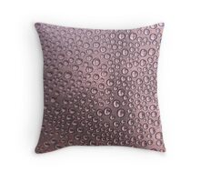 Lots of Dots of Water Throw Pillow