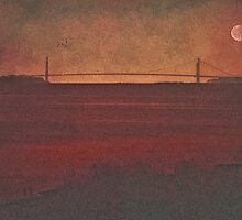 THE VERRAZZANO NARROWS BRIDGE by TOM YORK
