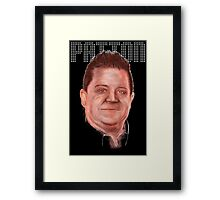 Patton Oswalt - Comedy Legend Framed Print