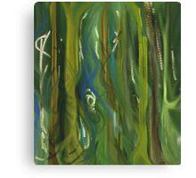 Green Scape Canvas Print