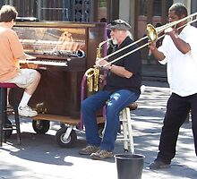 Jazz in the French Quarter by Forget-me-not