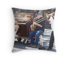 Jazz in the French Quarter Throw Pillow