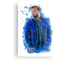 Jesse Pinkman - Crystal Blue Persuasion Metal Print