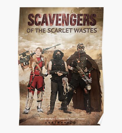 Scavengers of The Scarlet Wastes Season 1 Poster Poster