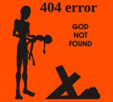 404 error: God Not Found by FreakShop404