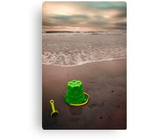 Beach Toys Canvas Print