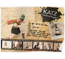 Katz Character Sheet (Scavengers Webseries) Poster