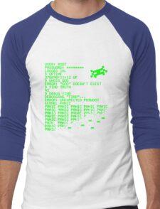 Kernel Panic! - green Men's Baseball ¾ T-Shirt