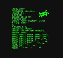 Kernel Panic! - green Unisex T-Shirt