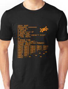 Kernel Panic! - orange Unisex T-Shirt