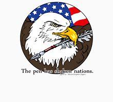 The pen has shaken nations. Unisex T-Shirt
