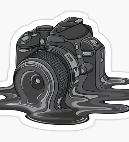 Camera Melt Sticker
