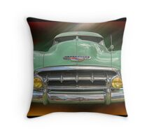 Child of the 50's - 1952 Chevrolet Deluxe Throw Pillow