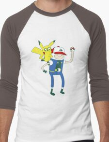 Pokemon Time Men's Baseball ¾ T-Shirt
