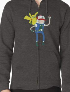 Pokemon Time Zipped Hoodie