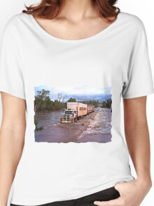 Truck Crossing Ord river Women's Relaxed Fit T-Shirt