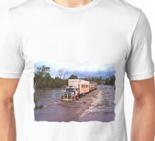 Truck Crossing Ord river Unisex T-Shirt
