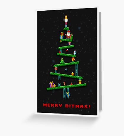 Merry Bitmas! Greeting Card