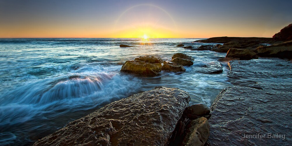 Whale Beach Sunrise, Sydney, NSW by Jennifer Bailey