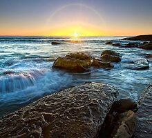Whale Beach Sunrise, Sydney, NSW by Jennifer Bailey