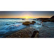 Whale Beach Sunrise, Sydney, NSW Photographic Print