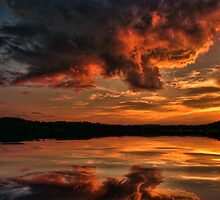 Sunsets and Water by Rick  Friedle