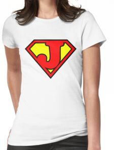 Super J Womens Fitted T-Shirt