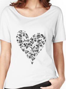 Sweet Heart Women's Relaxed Fit T-Shirt