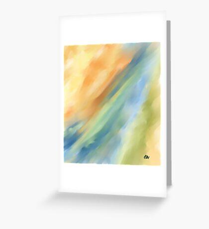 Sky Way Greeting Card