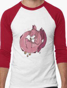 Milk & Cookies Dragon Men's Baseball ¾ T-Shirt