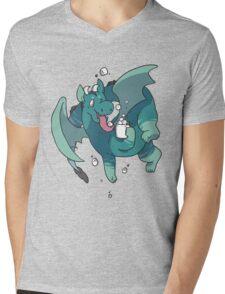 Cocoa Dragon Mens V-Neck T-Shirt