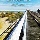 A Journey begins by Julia Harwood