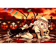 Touhou - Flandre Scarlet Poster Photographic Print