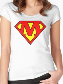 Super M Women's Fitted Scoop T-Shirt