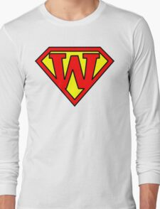 Super W Long Sleeve T-Shirt