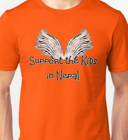 Support the Kids in Nepal Unisex T-Shirt