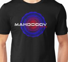 Maxdoggy Gaming - White Text Unisex T-Shirt