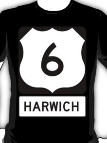 US 6 - Harwich Massachusetts T-Shirt