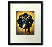 Remember the Night Framed Print