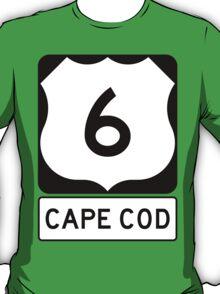 US 6 - Cape Cod Massachusetts T-Shirt