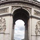 Photograph - L'Arc De Triomphe, Paris by reens55