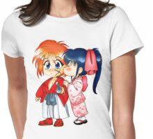 Samurai Kiss Womens Fitted T-Shirt