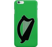 irish harp celtic irland iPhone Case/Skin