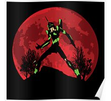 Neon Genesis Evangelion Unit 01 - Hill Top Poster