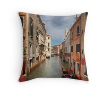 Sunshine in Venice Throw Pillow