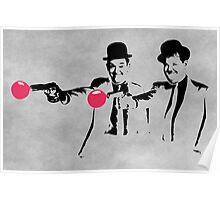 Laurel & Hardy Mashup Poster