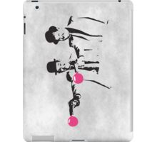 Laurel & Hardy Mashup iPad Case/Skin