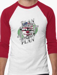 Plan your work, Work your plan Men's Baseball ¾ T-Shirt