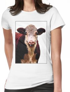 HAPPY LARRY Womens Fitted T-Shirt