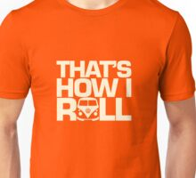 How I Roll Cream Unisex T-Shirt